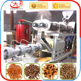 Aliments pour animaux de l'extrudeuse à double vis chien Pellet extrudeuse d'alimentation