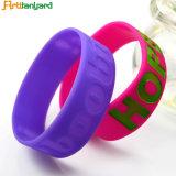 Wristband stampato di vendita caldo del silicone