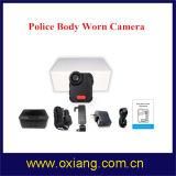 Construído na câmera desgastada da polícia da visão noturna IP65 do IR da bateria 4000mAh corpo video