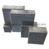 Dreiwegebienenwabe-Metallsubstratfläche, metallischer Substratfläche-Katalysator