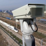 급상승 안전 감시 PTZ 열 사진기 6km 16km