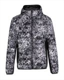 OEM Water-Print Light Weight Moda Men's Down Quilted Jacket