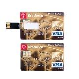 Don Pen Drive Tarjeta de crédito personalizada unidad Flash USB Pen Drive de 1GB 2GB 4GB 8GB 16GB 32 GB 64 GB.