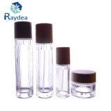 Frasco de vidro de sílex para a água 100ml essencial