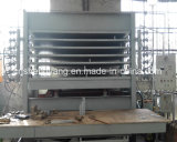Máquina caliente de la prensa de la chapa automática llena de la melamina para la cadena de producción del MDF