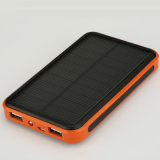 banco universal da potência do carregador 10000mAh solar para o telefone