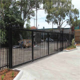 Powder Iron Fence Company Blackgalvanized