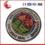 Emblema feito sob encomenda relativo à promoção do logotipo da forma de Novetly da classe elevada