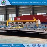 3 Gooseneck van de as 60t Breedte 2.5m van de Aanhangwagen zich van het Vervoer van het Graafwerktuig breidt Semi tot 3m uit