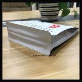平らなButtomの食糧パッキング習慣によって印刷されるジッパーの袋