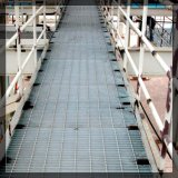 高品質の工場キャットウォークのフロアーリングによって電流を通される産業格子