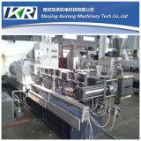 300kg/H PA6 Nylon + 유리 섬유 Plastic Compounding Twin Screw Pelletizing Line