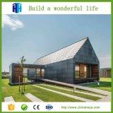 Modernes vorfabriziertes Luxuxlandhaus-Architekturentwurf der Häuser