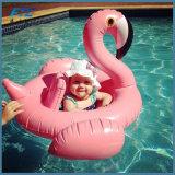 Brinquedos gigantes do partido de feriado da água das crianças do passeio da cor-de-rosa do flutuador da associação do flamingo inflável