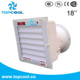"""Ventilateur d'aérage agricole d'échappement de porcs de ventilateur de ferme Gfrp 18 """""""