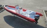 Aqualand 35feet 10.5m Rettungs-/Military-Rippen-Patrouillen-Bewegungsboot des Fiberglas-20persons steifes aufblasbares (rib1050b)