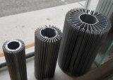 Profil en aluminium d'extrusion pour le matériel de radiateur