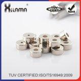Высокое качество дешевые Strong Permaennt металлокерамические неодимовые NdFeB кольцевым магнитом