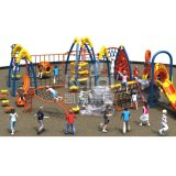 Kaiqi子供の遊園地(KQ60140B)のための上昇シリーズ屋外の運動場