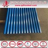 Chapa de aço ondulada Prepainted PPGI para a telhadura