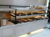 高品質顧客用木様式のパンの飾り戸棚のショーケース