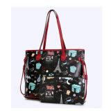 Neuestes Bestes Yc-H051, das kreativen Drucken-Handtaschen-Frauen-Käufer verkauft