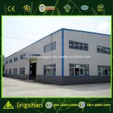 La luz de la fábrica de acero estructural de edificios para planta de procesamiento de anacardo