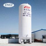 耐久の使用中の液体酸素タンク
