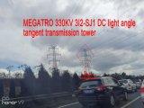 De Toren van de Transmissie van de Raaklijn van de Lichte Hoek van Megatro 330kv 3I2-Sj1 gelijkstroom