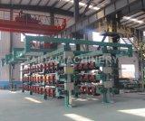 鋼鉄コードのゴム製コンベヤーベルトの加硫装置機械プラント工場