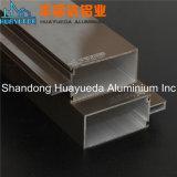 Profil en aluminium d'enduit de poudre pour le mur rideau de construction