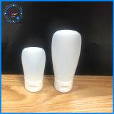 30/60ml het aangepaste Rubber voelt de Kosmetische Plastic Fles van de Room van de Zon