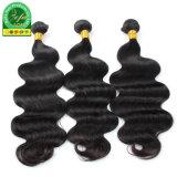 Raw Virgem Indiano Extensões de cabelo preto natural de cabelo humano