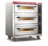 商業標準電気デッキのオーブン3のデッキ3の皿の食糧装置