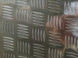 Алюминиевая плита проступи 5052 H114 для доски палубы