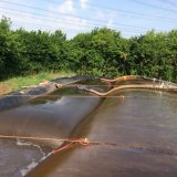 PP nonwoven Geotube 1 Ton para el filtro de barro y deshidratación
