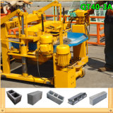 Petite machine mobile hydraulique semi automatique de brique de Qt40-3A