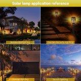 96 LEDs LED Solar Luz de Dança de Emergência de chamas