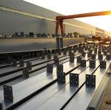 Светлый стальной гараж обеспеченностью для сбывания