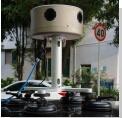 Tempo Real do Sistema de Vídeo panorâmico de 360 graus