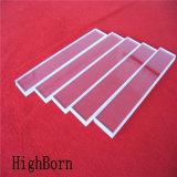 Lastra di vetro libera del quarzo nello spessore differente come richiesta