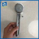 Plastique chromé prix bon marché à fonction unique avec la vis de douche à main