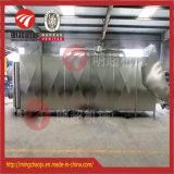 Tunnel-Type equipamento de secagem de ar quente para os pedaços de carne de porco