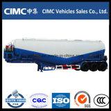 Cimc Tri-Axle 42cbm Cimento Tanker Trailer para Omã