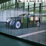 Visualizzazione di LED trasparente europea superiore di qualità P10