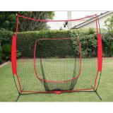 ナイロンによって結ばれる麻ひもの網の野球のバッティング・ケージのネット