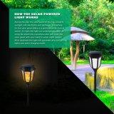Patio solar Luz resistente al agua con control de luz LED de 96