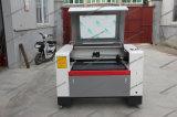 Prix en cuir de machine de découpage de laser de CO2 de textile de tissu