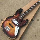 1959 relique Jazz Bass guitare électrique dans la solarisation (EG-110)