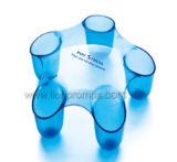 Massager medico della plastica del corpo della testa del regalo di promozione di forma fisica di salute di stampa su ordinazione